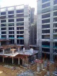 Steel Frame Structures Concrete Commercial Building Construction Work