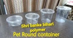 Round Pet Containers