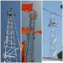 25 km 55 Mtr 4 legged angular telecom tower
