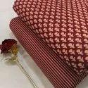 Bagru Print Cotton Running Fabric