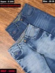 Comfort Fit Casual Wear Mens Denim Jeans
