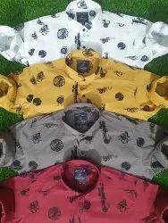 Lycra Mens Shirts