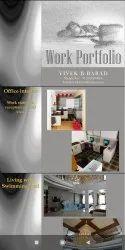 Interior design, Work Provided: Wood Work & Furniture