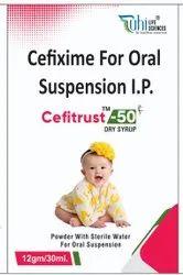 CEFITRUST 50 Cefixime Dry Syrup