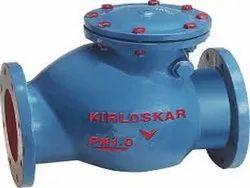 Cast iron Kirloskar Check Valve Flanged End, Valve Size: 2 To 24 Inch
