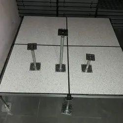 Steel False Flooring, For Indoor, Size: 60 cm X 60 cm