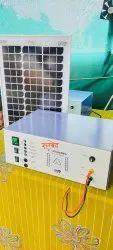 Solar Fence Zatka Machine