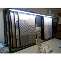 Tiles Display Slider Rack