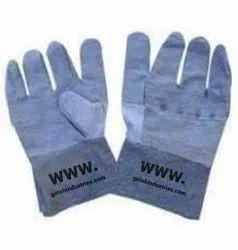 New Jean's Heavy Duty Denim Protection Hand Gloves