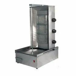 Shawarma Machine Gas 3 Burner, For Hotel