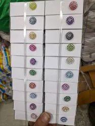 Plastic Ladies Fancy Buttons