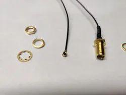 SMA Female Bulkhead FN To UFL Cable Cable