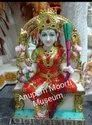 Lalitha Tripura Sundari Marble Statue
