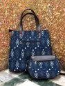 Bagru Print Cotton Hand Bag
