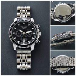 Silver Men Tissot Chronograph Watch, For Formal