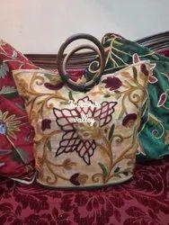 Velvet Kashmiri Crewel Bags