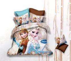 Printed Kids Bed Sheet