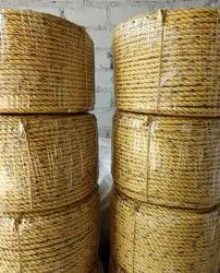 Yellow Semi Virgin Plastic Ropes, For Marine, Size: 4mm To 24mm