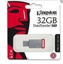 Kingston 32 GB  DT50 USB pen drive