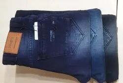 Knitted Luster Denim Jeans