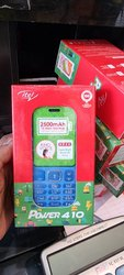 Black Mobile phone itel 5617, Memory Size: 32GB