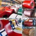 Colour coated coils
