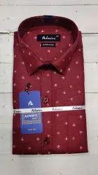 Bisani admire Collar Neck Men Fancy Printed Shirt