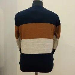 Round Neck Pullover All Over Designer Knitted