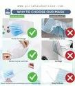 3 Ply Surgical Face Mask With Nose Pin
