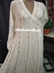 Chikankari Designer Anarkali Suit
