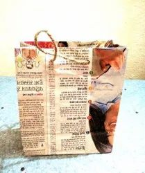 White Paper bag, For Grocery, Capacity: 2kg
