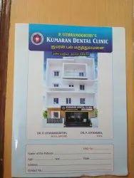 Dental Clinic File, For Hospital