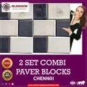 5 set combi paver block