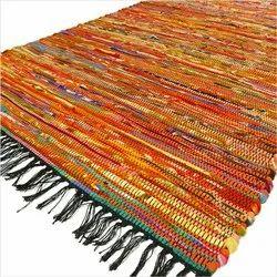 PKG Multicolor Designer Cotton Chindi Rugs, Size: 3 Feet X 5 Feet