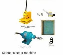 Slipper Sole Cutting Machine Full Set
