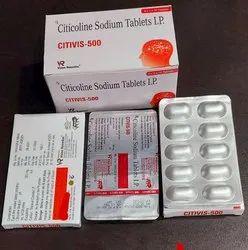 Citicoline Sodium 500 Mg Tablets