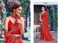 Ladies Printed Chiffon Saree