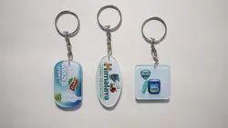 MDF and acrylic keychain