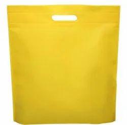 Plain Non Woven D Cut Shopping Bag