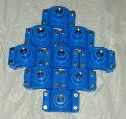 PP Blue Service Saddle Brass Insert
