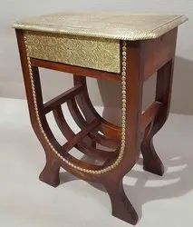 asian furniture Wooden side table, Number Of Drawer: 1
