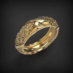 Men Designer Gold Ring