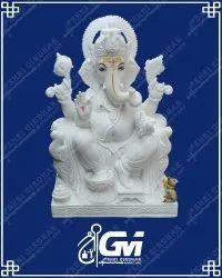 Marble Ganesh  Ji Moorti