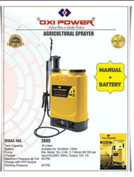 Oxi Power Agriculture Sprayer 16Ltr Capacity Manual/battery Operated