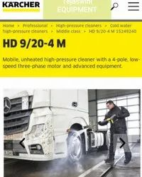Karcher High Pressure Hd 9/20 4 Classic