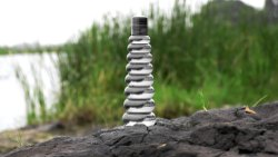 Pyramid Water Bottle