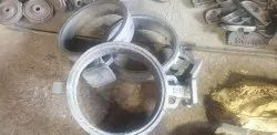 Butterfly valve in S G Iron castings