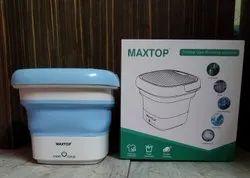 MAXTOP Semi-Automatic Portable Folding Washing Machine, Capacity: 0.8 KG