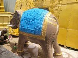 Elephant Statue Frp