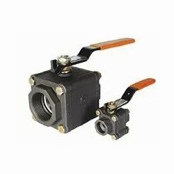 Cast Steel,Stainless Steel L&T Forged Valve Ball Valve, Valve Size: 15mm